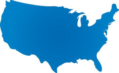 Carte des Etats-Unis d'Amérique