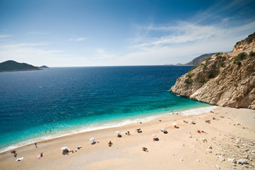 Kaputas beach in the Turkish Mediterranean