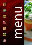 Fototapety menu