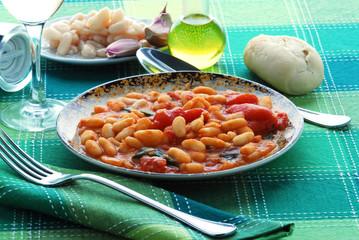 Fagiolini all uccelletto - Contorni - Cucina della Toscana