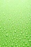 Water drops on a green background - 10142836