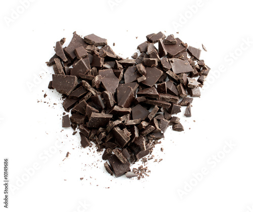 Chocolate heart - 10149686