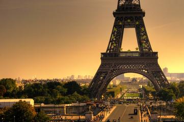Eiffel Tower in Paris / Detail