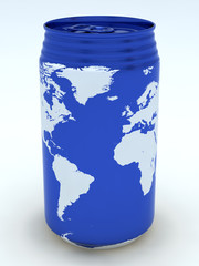 Canned globe4 (Atlantic Ocean )