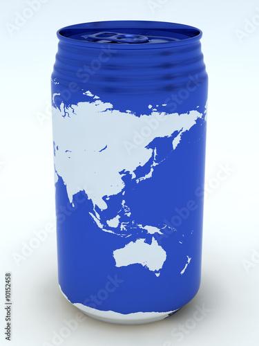 Canned globe8 (Far East,Oceania)