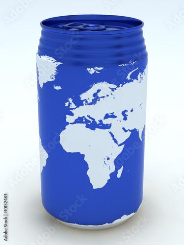 Canned globe5 (Europe,Africa)