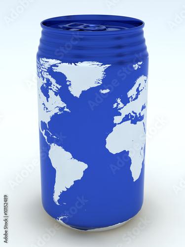 Canned globe4 (Atlantic Ocean )