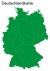 Deutschlankarte