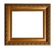 Gold Old Square Frame