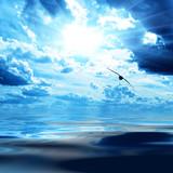 Fototapeta atmosfera - piękny - Morze / Ocean