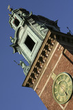 Tower of the Wawel Cathedral in Krakow, Poland poster