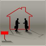 Transaction immobilière poster