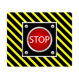 stop button illustration