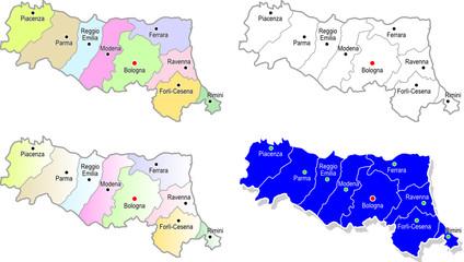 Province emiliano romagnole