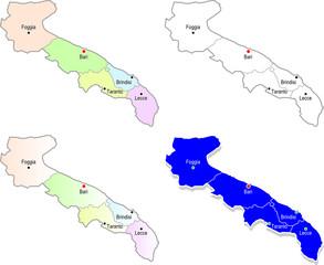 Province pugliesi