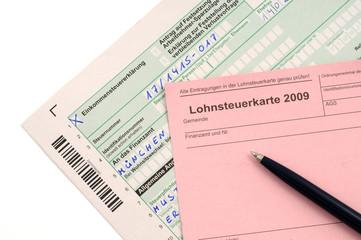 Deutsche Lohnsteuerkarte