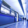 Fototapeta Pobyt - Drzwi - Metro