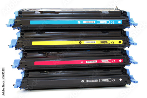 Four cartridges for laser printers
