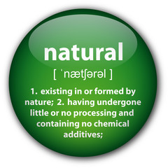 """Natural"" definition button (green)"