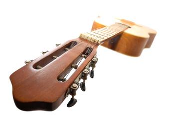 Old spanish guitar