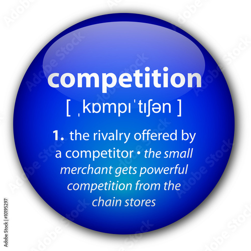 """Competition"" definition button"