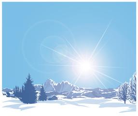 paesaggio alpino 1