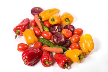 food series: multifarious vegetables in the  basket