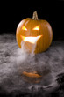 Jack-o-Lantern with mist