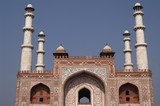 Islamic Tomb - Akbar The Great at Agra, India poster