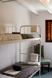 Bunkbeds in a cabin of a vintage steamship