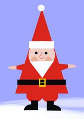 papá noel en navidad. christmas santa claus
