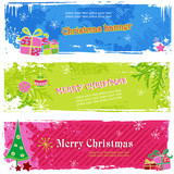 Fototapety christmas banners