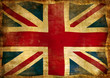 vintage flag of GB