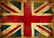 vintage flag of GB