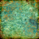Fototapety green rusty vintage texture
