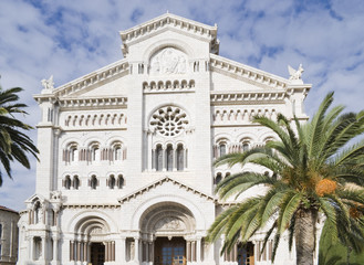 Saint Nicholas Cathedral in Monaco.