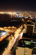 city harbor night scene