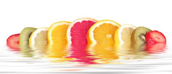 frutta mista a fette