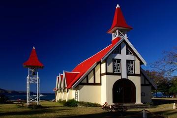 Eglise de Cap Malheureux à l'Ile Maurice