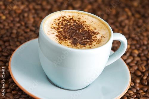 Foto op Canvas Cafe cappuccino