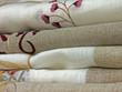pièces de tissu, tissage et broderies artisanales