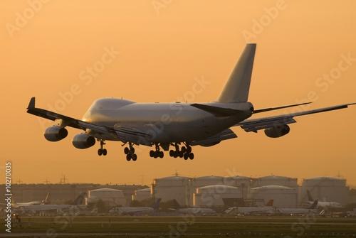 Landeanflug FRA