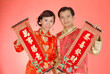 Couple in Trditional Chinese Costumes (4)
