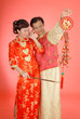 Couple in Trditional Chinese Costumes (5)