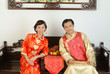 Couple in Trditional Chinese Costumes (7)