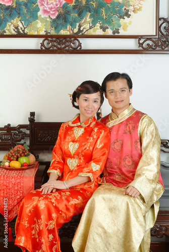Couple in Trditional Chinese Costumes (8)