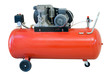 Mobile compressor of red color