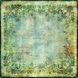 Fototapety vintage green paper background