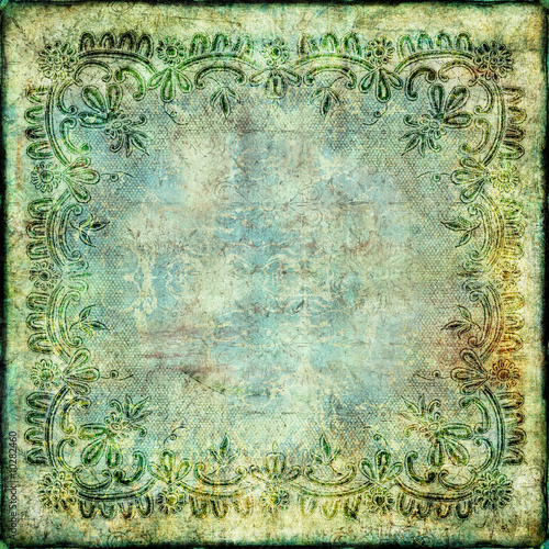 vintage green paper background