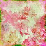 vintage pink floral paper